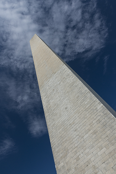 Morning, Washington Monument, May 13, 2014