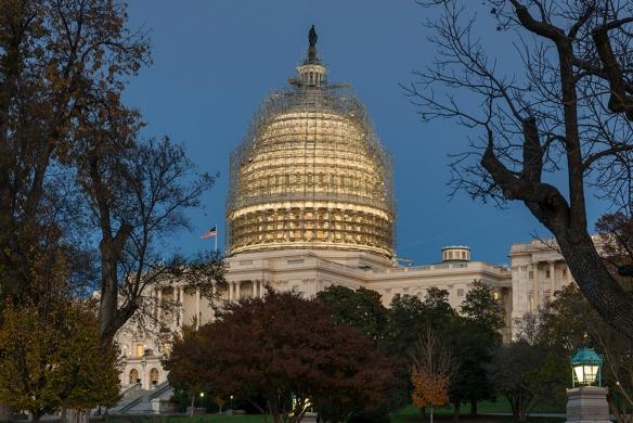 US Capitol Scaffolding 01