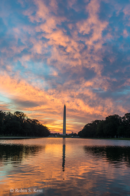 Reflecting Pool Sunrise