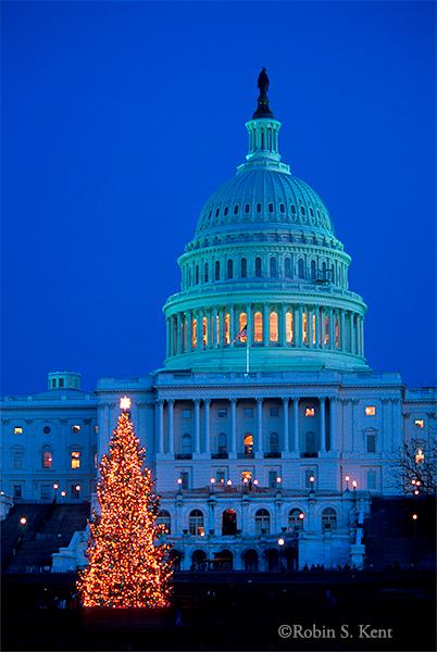 XMAS Capitol Xmas Tree 01 2002