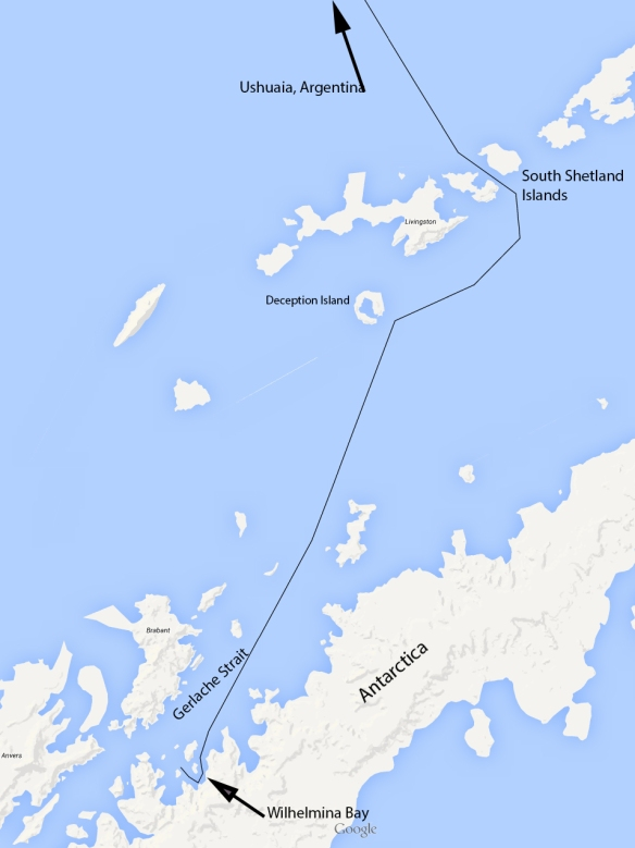 Antartica Map 01