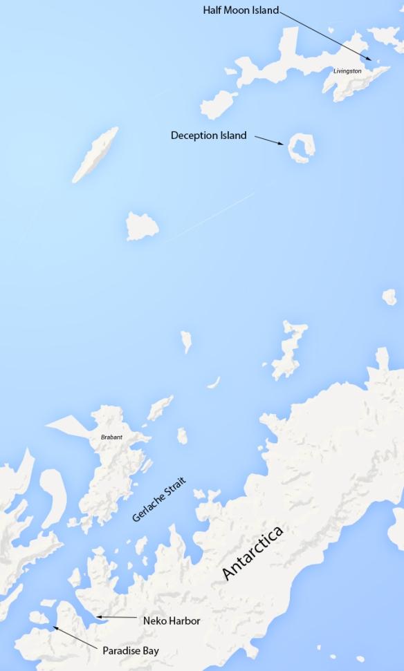 Antarctica Map 04
