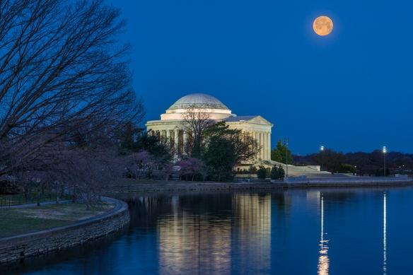 Jefferson Moonset