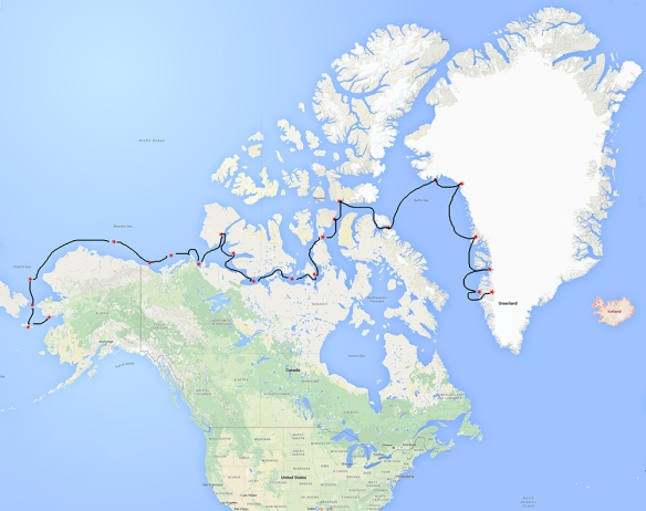 Northwest Passage MAP Blog