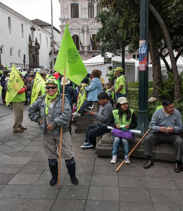 Ecuador 14 Political Activist