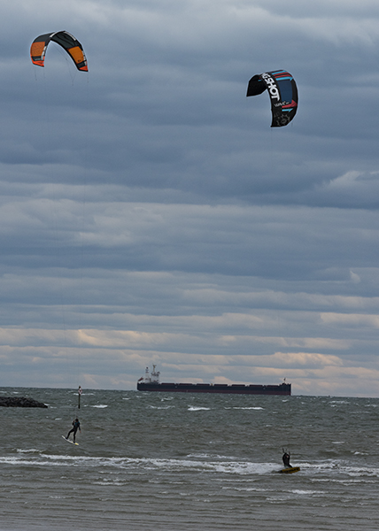 Cape Charles 10 (Kite Surfers)